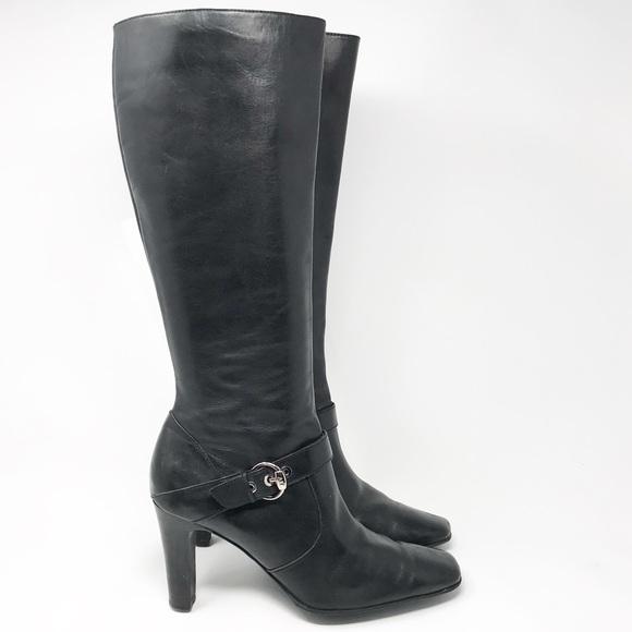 83f10cb95bb Anne Klein Shoes - 🆕Ann Klein iflex Leather Knee-High Boots